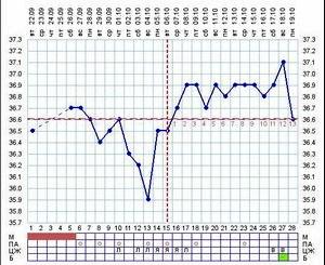 Беременность и базальная температура.