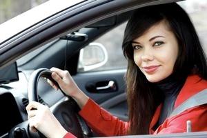 Беременные женщины за рулем.