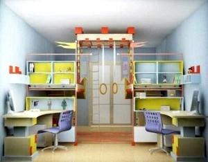 Детская комната и мебель в ней.