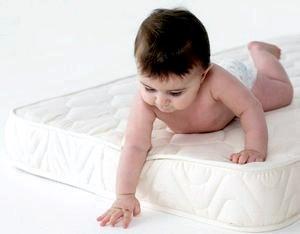Как правильно выбрать матрас для младенца.