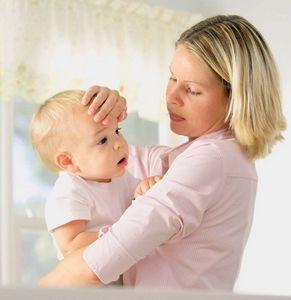 Какая температура тела у грудных детей?