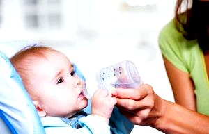 Кормление ребенка по месяцам
