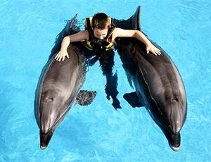 Лечение детей с помощью дельфинотерапии