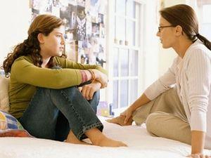 Основные темы для разговора мамы с дочкой.