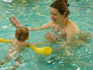 Плавание для грудничков. Бассейн для грудничков