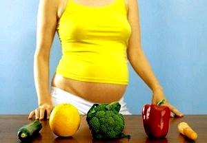 Список обязательных продуктов для беременной женщины.