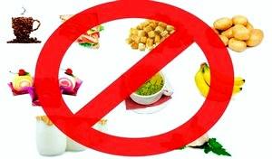 Список продуктов, которые запрещено есть натощак.